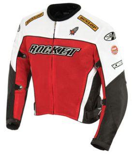 Joe Rocket UFO 2 0 Textile Mesh Jacket Red s Small