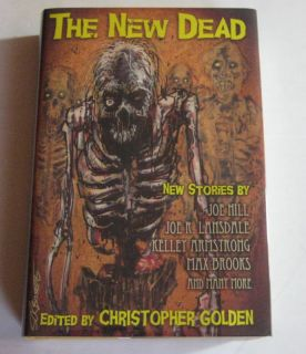 Brian Keene Joe Hill John Connolly Mike Carey The New Dead Signed