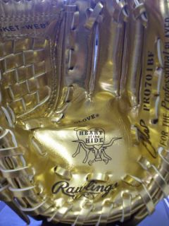 Joe Mauer Autographed Rawlings Mini Gold Glove