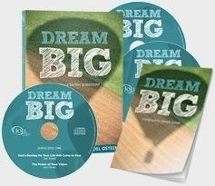 Joel Osteen Dream Big imagine a better tommorrow  CD/DVD  BRAND NEW