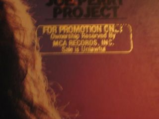 Joe Perry Project Signed Album LP PSA DNA Aerosmith