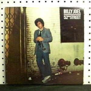 Billy Joel 52nd Street 1978 Vinyl LP Excellent EX