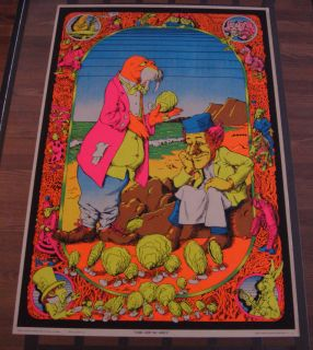 Come to The Dance Vintage Black Light Poster Joe Roberts Jr
