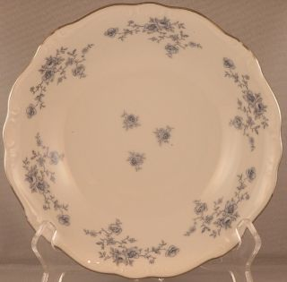 Johann Haviland Bavaria Germany Blue Garland Pattern Coupe Soup Bowl