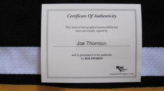Joe Thornton Boston Bruins Autographed Hockey Jersey