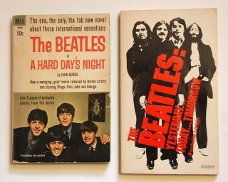 Beatles in A Hard Days Night John Burke Paperback 1st Ed 64 2nd book
