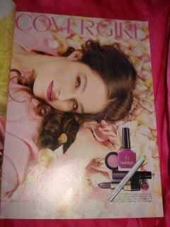 Glamour Claudia Schiffer John Kennedy Jr Kylie Bax Niki Taylor Vintage