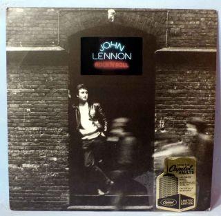 John Lennon Rock Roll US 180g Vinyl LP Near Mint