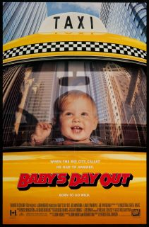 Babys Day Out 1994 Original U s One Sheet Movie Poster