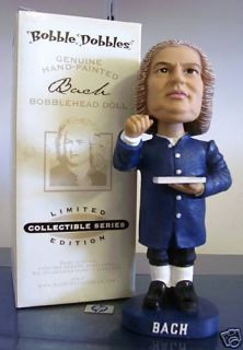Johann Sebastian BACH LIMITED EDITION Composer Bobble Bobblehead from