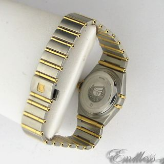 1292 30 00 Omega Constellation Ladies Automatic Watch 18K Swiss Cal