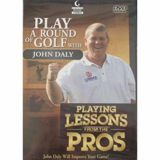 Playing A Round of Golf w John Daly DVD Golf Lessons