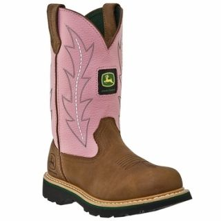 John Deere Ladies Wellington Cowboy Boots Size 6 10