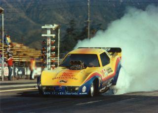 John Brute Force 1979 Wendys Corvette Nitro Funny Car Original