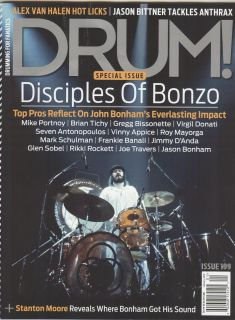 John Bonham Drum Magazine Bonzo Bonham Mint Condition LED Zeppelin