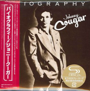 John Cougar Mellencamp Biography Japan Mini LP SHM CD G00