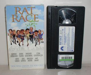 2002 VHS Rowan Atkinson Whoopi Goldberg John Cleese Jon Lovitz