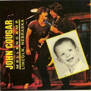 Cent CD John Cougar Mellencamp Lincoln Nebraska 1983 RARE Live