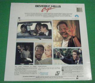 Cop Laser Disc Eddie Murphy Judge Reinhold John Ashton 1984