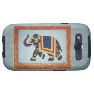 Elephant blue Case Mate Samsung Galaxy Vibe Case Samsung Galaxy S3