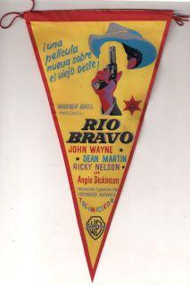 Rio Bravo John Wayne Dean Martin Ricky Nelson Spanish Herald Mini
