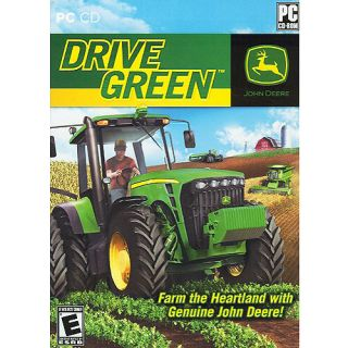 John Deere Drive Green Farm Sim Simulation PC Game Brand New SEALED