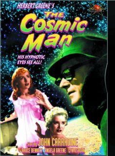 The Cosmic Man New SEALED DVD John Carradine