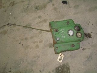 John Deere B Tractor Dash with Gages ID 2888