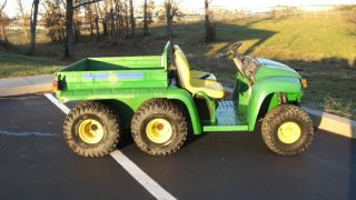 John Deere Gator 6x4 with A Professional Rebuilt Engine with New JD Parts