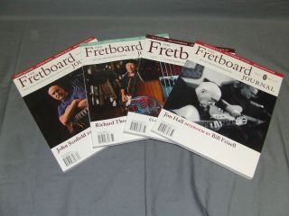 Fretboard Journal Guitar Book Lot Jim Hall John Scofield Richard Thompson