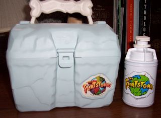 FLINTSTONES LUNCH BOX MINT UNUSED YABBA HANNA BARBERA DABBA DO JOHN GOODMAN