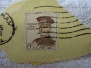 1961 US General John J Pershing 8 Cent Postage Stamp