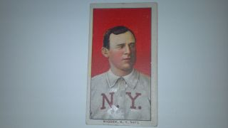 John McGraw T206 T 206 Tobacco Card Piedmont 1909 11 HOF New York Giants