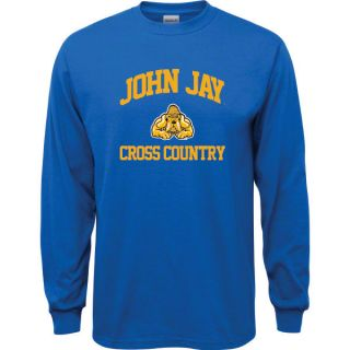 John Jay College of Criminal Justice Bloodhounds Royal Blue Youth Cross Count