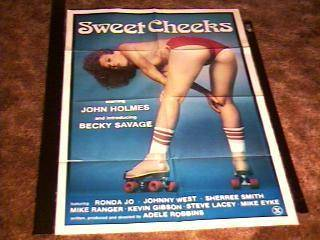 Sweet Cheeks Movie Poster John Holmes Hot