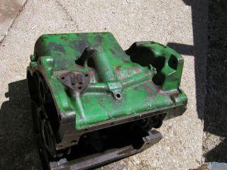 John Deere 40 M MT Tractor JD Engine Motor 2 Cyclinder Gas Engine Block