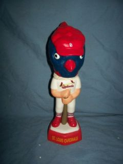 St Louis Cardinals Mascot Sam Bobbing Head
