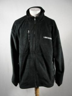 Law Order Official Fleece Jacket with Logo Size x Large
