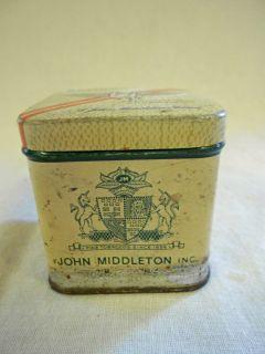 "Vintage John Middleton ""Regimental"" Mixture Tobacco Tin"