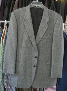John Henry Blazer Sport Coat Jacket Wool Blnd 3 But 42R
