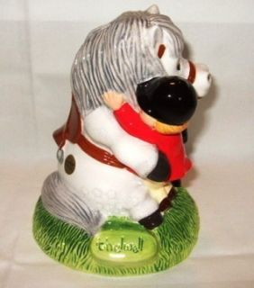 John Beswick Norman Thelwell Equestrian Designed Money Box
