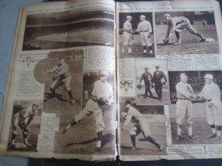 Old 1920 Mid Week Pictorial JOHN MCGRAW New York GIANTS BASEBALL Cover
