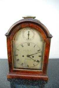 George III Double Fusee John Parker London Verge Converted Bracket Clock