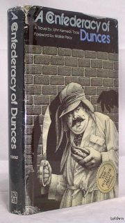 A Confederacy of Dunces John Kennedy Toole Second Printing 1980 Pulitzer