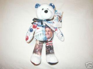 Limited Treasures John Kerry Bean Bear 2004 Election