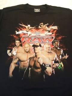 WWE Raw John Cena Wrestling T Shirt Youth Small