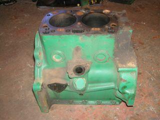 John Deere 420 430 320 330 Tractor JD Engine Motor 2 Cyclinder Gas Engine Block