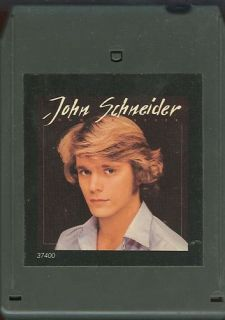 John Schneider 8 Track Tape Now or Never Dukes Hazzard