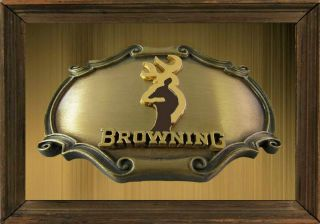 MAGNET Belt Buckle PHOTO MAGNET Browning Deer