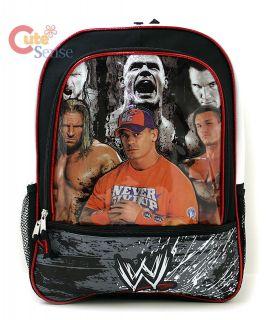 WWE Wrestling John Cena Triple H School Backpack Bag L